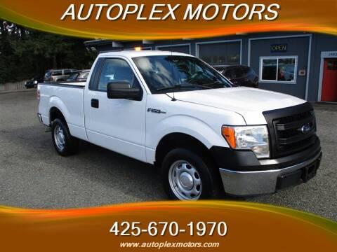2013 Ford F-150 for sale at Autoplex Motors in Lynnwood WA