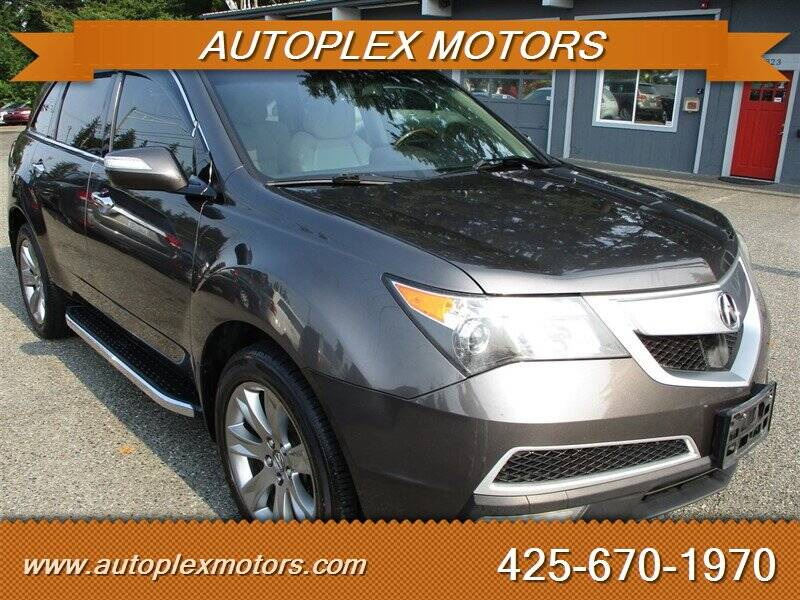 2011 Acura MDX for sale at Autoplex Motors in Lynnwood WA