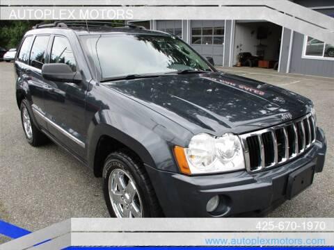 2007 Jeep Grand Cherokee for sale at Autoplex Motors in Lynnwood WA