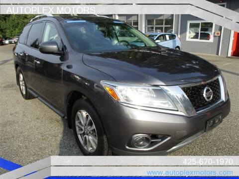2014 Nissan Pathfinder for sale at Autoplex Motors in Lynnwood WA