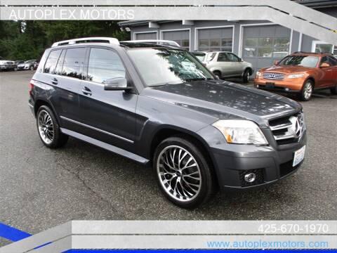 2010 Mercedes-Benz GLK for sale at Autoplex Motors in Lynnwood WA