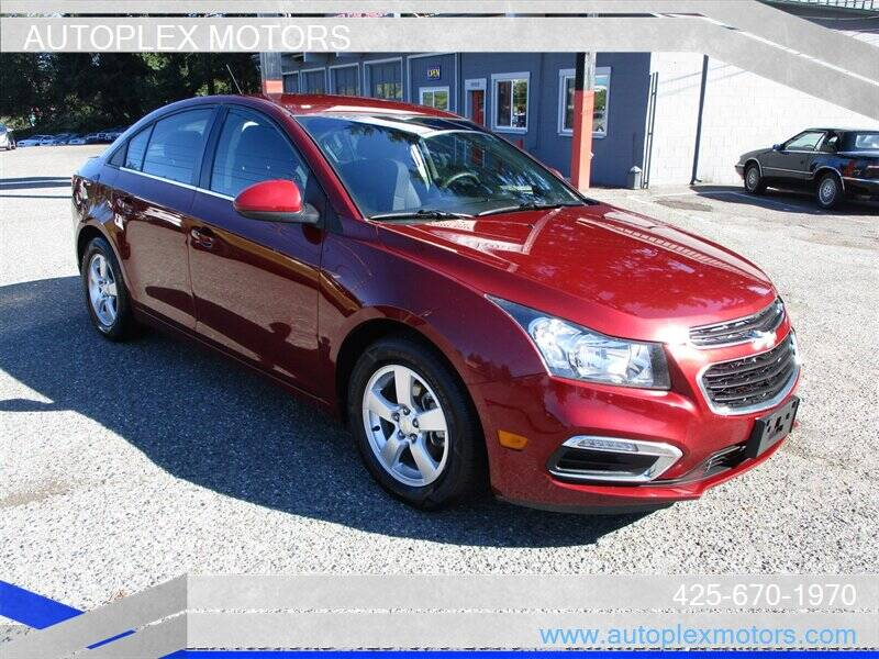 2015 Chevrolet Cruze for sale at Autoplex Motors in Lynnwood WA