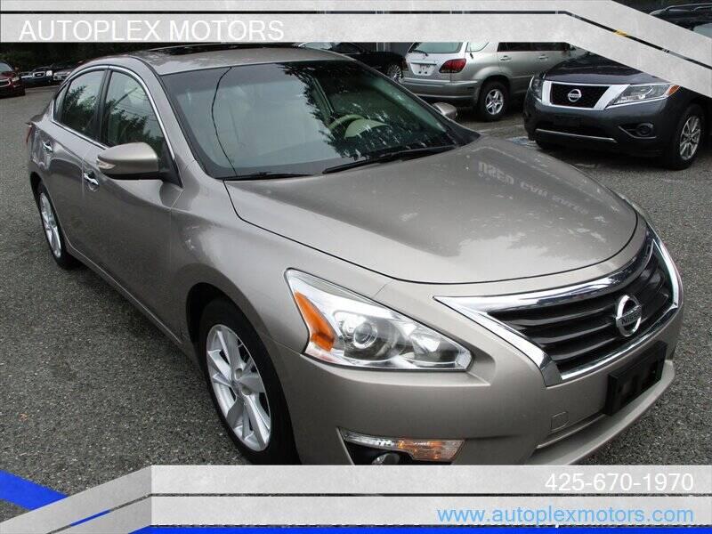 2013 Nissan Altima for sale at Autoplex Motors in Lynnwood WA