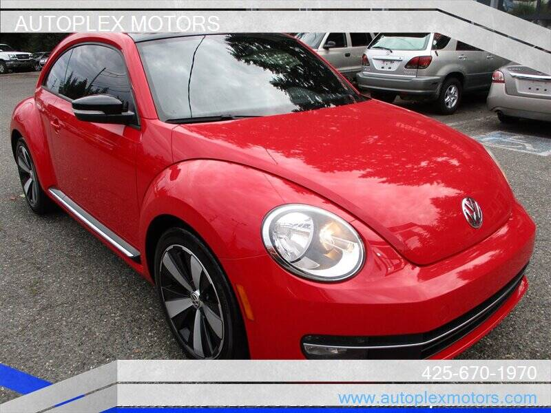 2012 Volkswagen Beetle for sale at Autoplex Motors in Lynnwood WA
