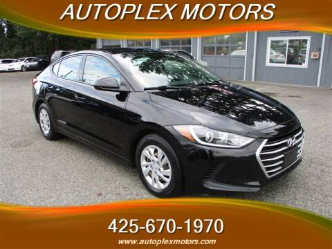 2017 Hyundai Elantra for sale at Autoplex Motors in Lynnwood WA