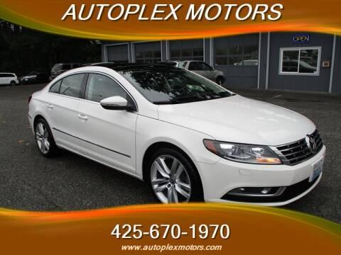 2013 Volkswagen CC for sale at Autoplex Motors in Lynnwood WA