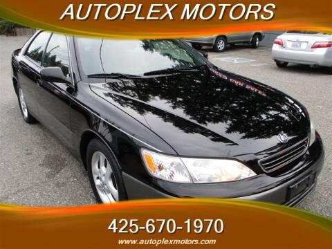 2000 Lexus ES 300 for sale at Autoplex Motors in Lynnwood WA