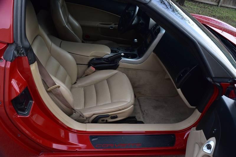 2005 Chevrolet Corvette 2dr Coupe - Victoria TX