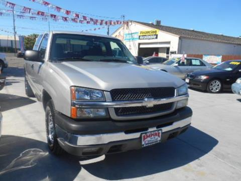 2004 Chevrolet Silverado 1500 for sale at Empire Auto Sales in Modesto CA