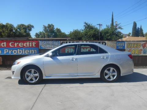 2012 Toyota Camry for sale at Empire Auto Sales in Modesto CA