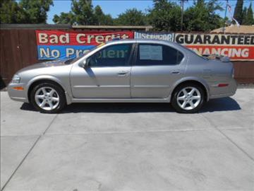 2002 Nissan Maxima for sale at Empire Auto Sales in Modesto CA