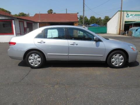 2004 Honda Accord for sale at Empire Auto Sales in Modesto CA