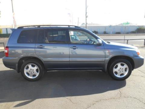 2006 Toyota Highlander for sale in Modesto, CA