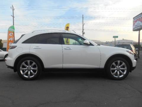 2005 Infiniti FX35 for sale at Empire Auto Sales in Modesto CA