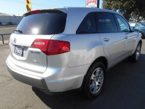 2007 Acura MDX for sale at Empire Auto Sales in Modesto CA
