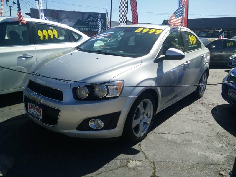 2012 Chevrolet Sonic for sale at Empire Auto Sales in Modesto CA
