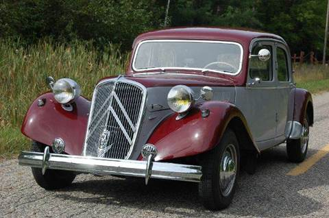1955 Citroen Traction Avant for sale at Rallye Import Automotive Inc. in Midland MI