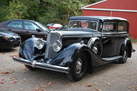 1936 Panhard Panoramique X37 for sale at Rallye Import Automotive Inc. in Midland MI