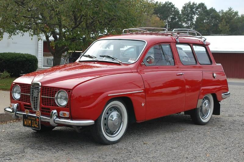 1968 Saab 95 Wagon for sale at Rallye Import Automotive Inc. in Midland MI
