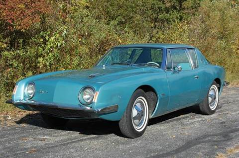 1963 Studebaker Avanti for sale at Rallye Import Automotive Inc. in Midland MI