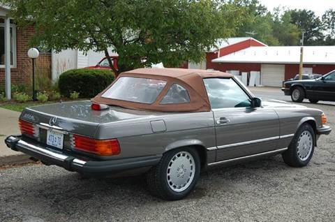 1987 Mercedes-Benz 560-Class for sale at Rallye Import Automotive Inc. in Midland MI