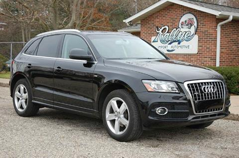 2012 Audi Q5 for sale at Rallye Import Automotive Inc. in Midland MI