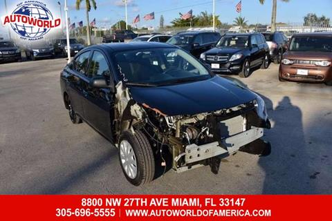 2015 Nissan Versa for sale in Miami, FL