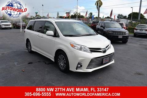 2018 Toyota Sienna For Sale In Miami FL