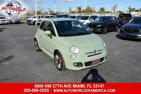 2015 FIAT 500 for sale in Miami, FL