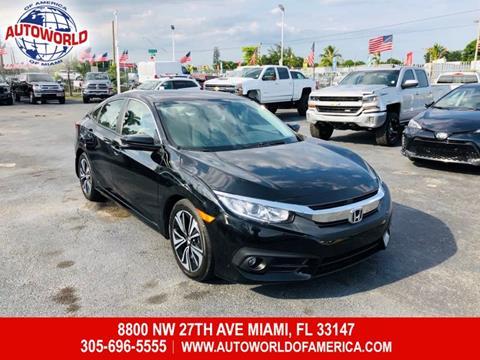 2017 Honda Civic for sale in Miami, FL