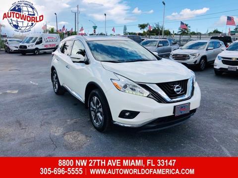 2017 Nissan Murano for sale in Miami, FL