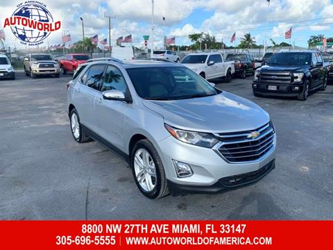 2019 Chevrolet Equinox for sale in Miami, FL