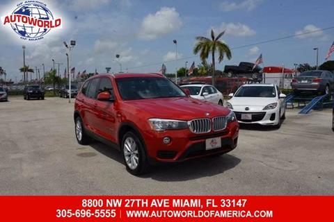 2015 BMW X3 for sale in Miami, FL