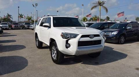 2016 Toyota 4Runner for sale in Miami, FL