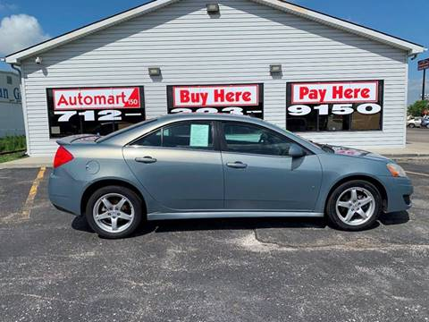 2009 Pontiac G6 for sale in Council Bluffs, IA