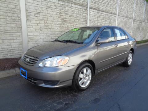 2003 Toyota Corolla for sale at Matthews Motors LLC in Algona WA