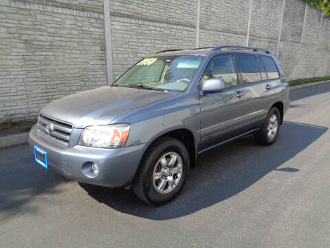 2007 Toyota Highlander for sale at Matthews Motors LLC in Algona WA