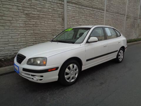 2006 Hyundai Elantra for sale at Matthews Motors LLC in Algona WA