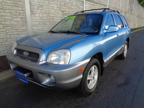2004 Hyundai Santa Fe for sale at Matthews Motors LLC in Algona WA