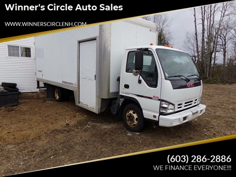 2006 GMC W4500 for sale in Tilton, NH