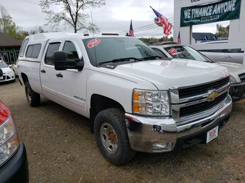 2008 Chevrolet Silverado 2500HD for sale at Winner's Circle Auto Sales in Tilton NH