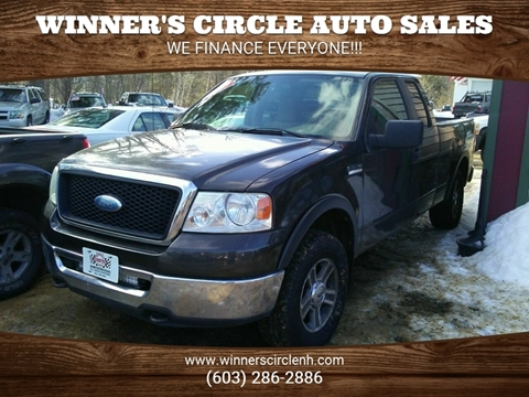 2007 Ford F-150 for sale at Winner's Circle Auto Sales in Tilton NH