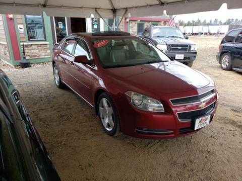 2009 Chevrolet Malibu for sale at Winner's Circle Auto Sales in Tilton NH
