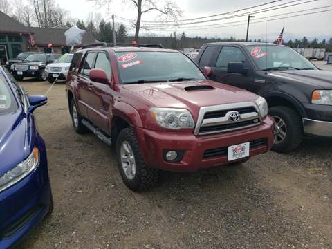 2006 Toyota 4Runner for sale at Winner's Circle Auto Sales in Tilton NH
