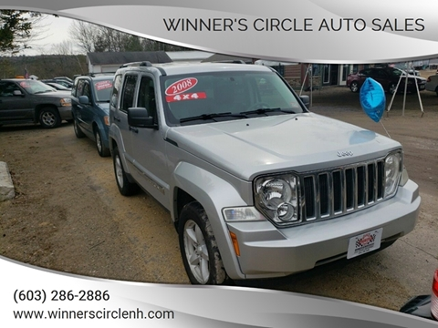 2008 Jeep Liberty for sale at Winner's Circle Auto Sales in Tilton NH