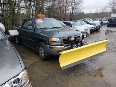 2006 GMC Sierra 1500 for sale at Winner's Circle Auto Sales in Tilton NH