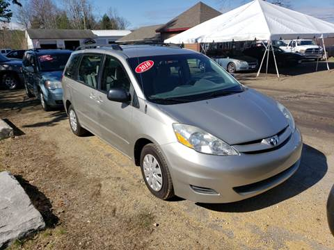 2010 Toyota Sienna for sale at Winner's Circle Auto Sales in Tilton NH