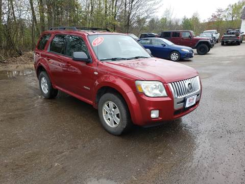 2008 Mercury Mariner for sale at Winner's Circle Auto Sales in Tilton NH
