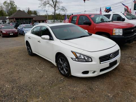 2012 Nissan Maxima for sale at Winner's Circle Auto Sales in Tilton NH