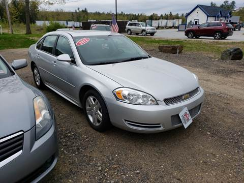 2012 Chevrolet Impala for sale at Winner's Circle Auto Sales in Tilton NH